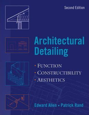 Architects Handbook of Construction Detailing