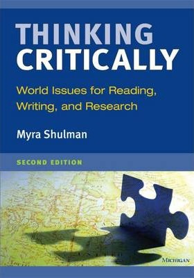 Thinking Critically : World Issues for Reading, Writing, and Research