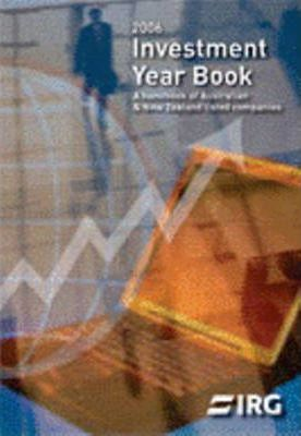 2006 Investment Year Book - New Zealand Share Market Info 2006