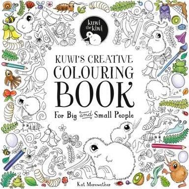 Kuwi's Creative Colouring Book: For Big and Small People 2016