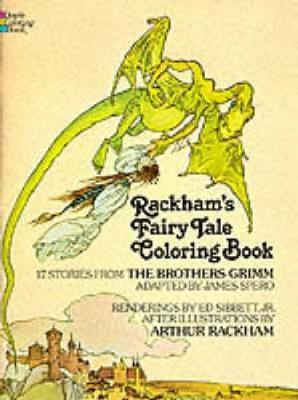 Rackham's Fairy Tale Colouring Book