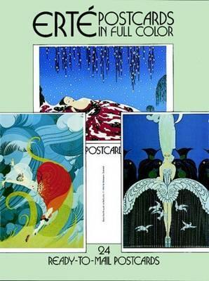 Erte Postcards in Full Color : 24 Ready-to-Mail Postcards