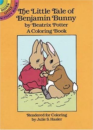 The Little Tale of Benjamin Bunny Colouring Book