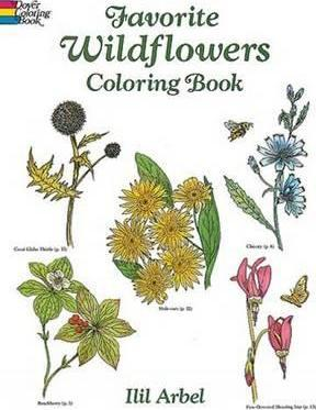 Favourite Wildflowers Colouring Book