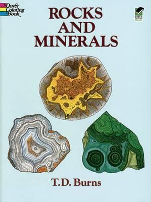 Rocks and Minerals Colouring Book : T. D. Burns : 9780486286457