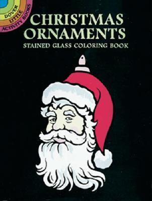 Christmas Ornaments Stained Glass Coloring Book