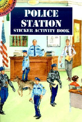 Police Station Sticker Activity Book
