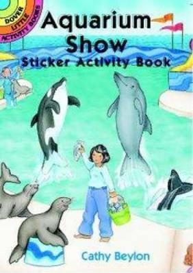 Aquarium Show Sticker Activity Book