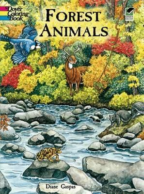 Forest Animals Colouring Book