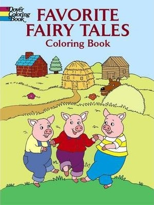 Favorite Fairy Tales Coloring Book : Fran Newman-D\'Amico : 9780486433295
