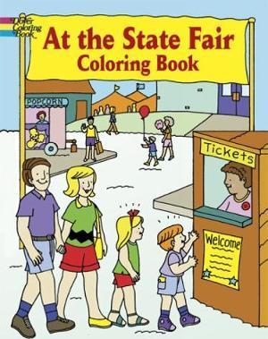At the State Fair Coloring Book