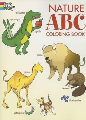 Nature ABC Coloring Book : Cathy Beylon : 9780486444482