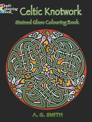 Celtic Knotwork, Stained Glass Coloring Book : Albert G ...