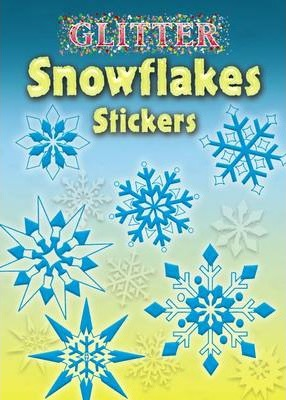 Glitter Snowflakes Stickers
