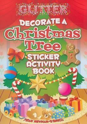 Newman Christmas Trees.Glitter Decorate A Christmas Tree Sticker Activity Book