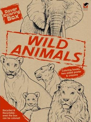 Dover Coloring Box -- Wild Animals : Dover : 9780486473529