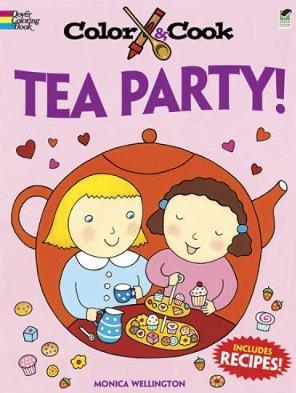 Color & Cook TEA PARTY!