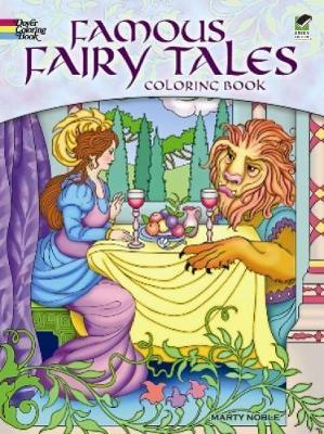 Famous Fairy Tales Coloring Book : Marty Noble : 9780486497075