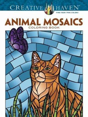 Creative Haven Animals Mosaics Coloring Book : Jessica Mazurkiewicz ...