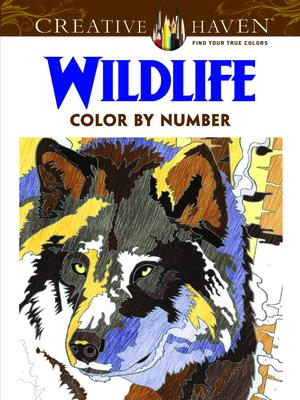 Creative Haven Wildlife Color by Number Coloring Book : Diego ...