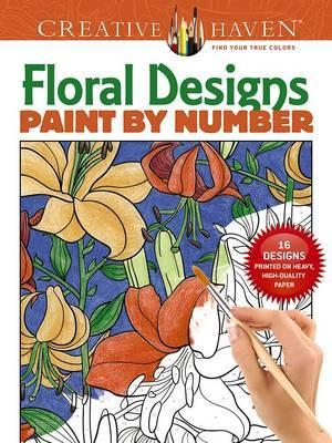 Creative Haven Floral Design Paint By Number
