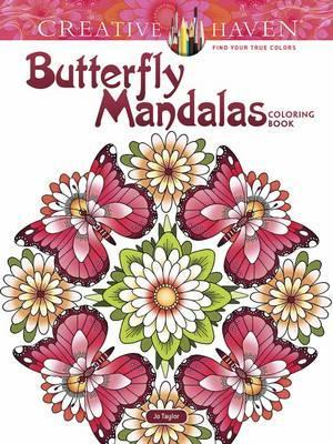 Creative Haven Butterfly Mandalas Coloring Book : Dianne Gaspas-Ettl ...