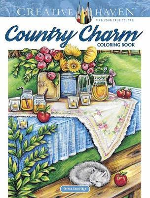 Creative Haven Country Charm Coloring Book