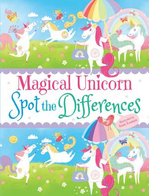 Magical Unicorn Spot the Differences