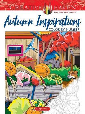 Creative Haven Autumn Inspirations Color by Number