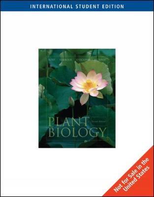 Plant Biology, International Edition (with InfoTrac)