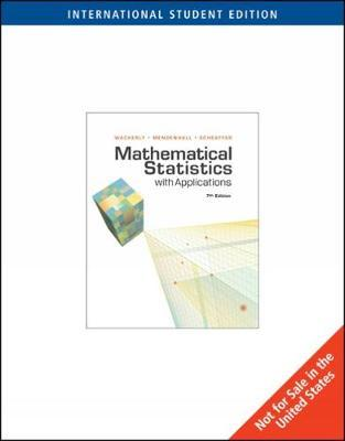 Mathematical Statistics with Applications, International Edition