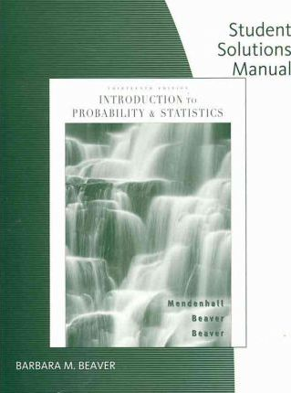 Student solutions manual to accompany introduction to probability.