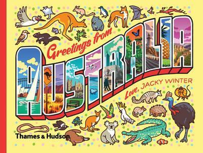 Greetings From Australia: A Postcard & Sticker Book