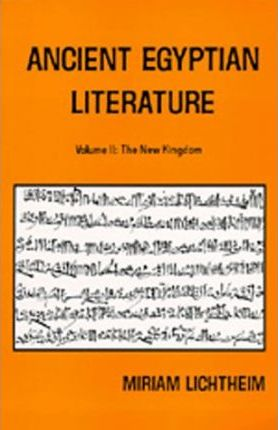 Ancient Egyptian Literature: New Kingdom v. 2