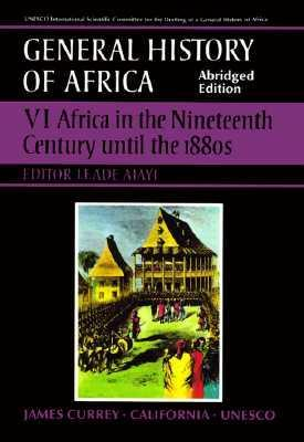 Africa in the Nineteenth Century Until the 1880s: v. 6