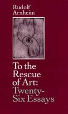 To the Rescue of Art