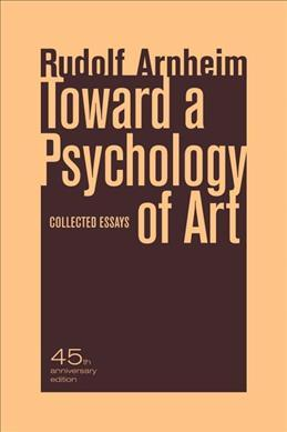 Toward a Psychology of Art