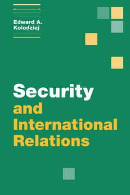 security in international relations The concept of national security expanded to incorporate not only 'traditional' threats from hostile actors, but a host of issues ranging from the impact of climate change, natural disasters, resource security and even recession.