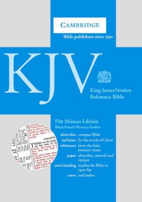 KJV Pitt Minion Reference Edition, R183 Black French Morocco Leather: KJV Pitt Minion Reference Edition, R183 Black French Morocco Leather KJV Pitt Minion Reference Edition, R183