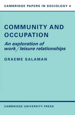 sociology of occupation