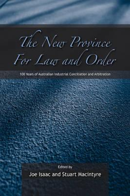 The New Province for Law and Order