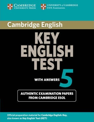 KET Practice Tests: Cambridge Key English Test 5 Student's Book with