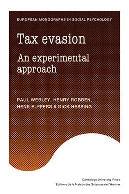 Tax Evasion: An Experimental Approach
