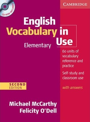 English Vocabulary in Use Elementary with Answers and CD-ROM