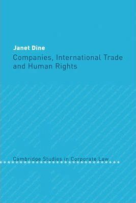 Companies, International Trade and Human Rights