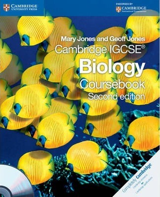 Cambridge igcse biology: workbook by cambridge university press.