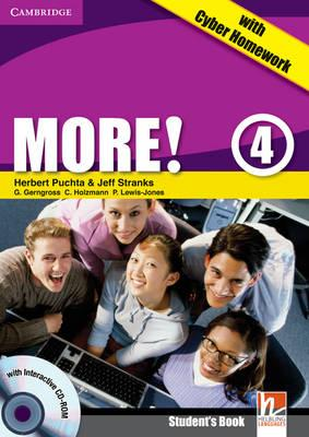 More! Level 4 Student's Book with Interactive CD-ROM with Cyber Homework