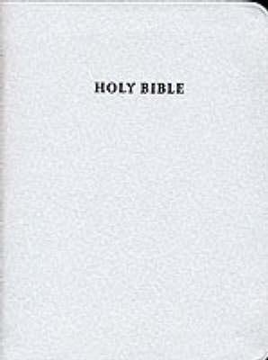 KJV Compact Reference Edition Red Letter with Concordance, White Bonded Leather