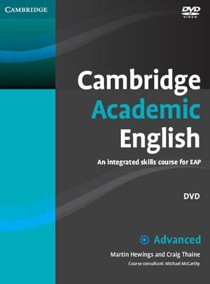 Cambridge Academic English C1 Advanced DVD : An Integrated Skills Course for EAP