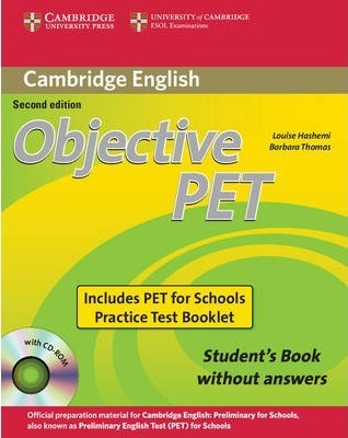 book answers with with pet complete cd-rom students
